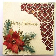 Silverwolf Cards: Christmas Cards with Tim Holtz Mixed Media dies
