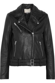 IRO Jone leather biker jacket  €749.00 https://www.net-a-porter.com/products/591547