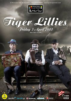 The Tiger Lillies - Principal Club Theater 2013