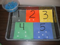 Fine motor & numbers plus links to tons more tasks
