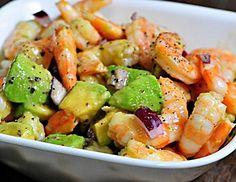 Shrimp & Avocado Salad... Happy Hour Appetizers 31 | Hampton Roads Happy Hour - g.3.5