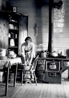 woman on the Montana frontier toward the end of the 19th century. I was born in the wrong century...would love to go back in time to this era.