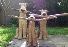 'Stick Dales' by Wendy Hodgson www.wendyhodgson.net www.facebook.com/mudpups