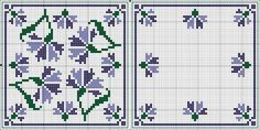 Cross-stitch Biscornu... no color chart available, just use the pattern chart as your color guide.. or choose your own colors... Картинка: