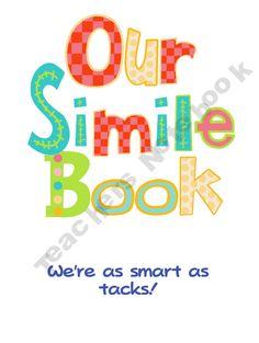 Simile book Teaching Time, Teaching Reading, Teaching Ideas, Elementary Teaching, Guided Reading, School Fun, School Ideas, School Stuff, Speech And Language