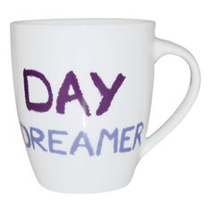 #JamieOliver #Mug #Day Dreamer http://www.palmerstores.com/product/jamie-oliver-cheeky-mug-day-dreamer/814/