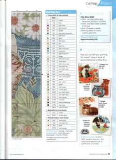 Gallery.ru / Фото #9 - The world of cross stitching 185+M.Sherry-Stitcher's Diary 2 - tymannost