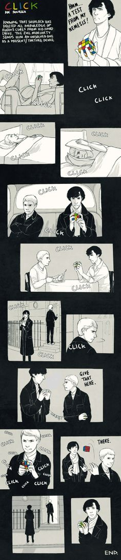 Sherlock and the Rubik's Cube...