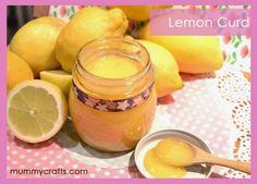 Recetas de repostería, Lemon Curd