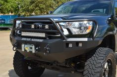 Road Armor® :: 2012-2013 Toyota Tacoma Front Stealth Winch Bumper with Lonestar Guard | Wish they made these for a 2004!