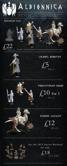 ArcWorlde: Troubles in the North by Warploque Miniatures — Kickstarter