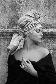 Turbante fashion.