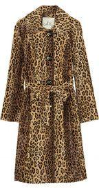 MILLY  Leopard-print faux fur coat  £978