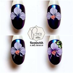 Best Nail Art Decorations To Choose 3d Nail Art, 3d Acrylic Nails, Cool Nail Art, Nail Arts, Orange Nail Designs, 3d Nail Designs, Short Nail Designs, Classy Nails, Simple Nails