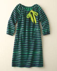 Shoelace Dress by Morgan + Milo #stripes