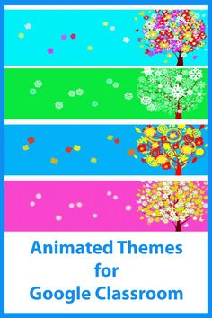 An animimated theme (4 gif files included) to add some fun to your Google Classroom. Online Classroom, Classroom Decor, Free Education, Beautiful Nature Wallpaper, France, Student Engagement, Google Classroom, Educational Technology, First Grade