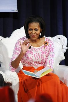 Michelle Obama in orangeTOOLS FOR EARLY CHILDHOOD LEARNING FILL UP OUR WISHLIST PROMOTING EDUCATION FOR CHRISTMAS KIDS IN BROOKLYN NY http://www.amazon.com/.../ref=cm_sw_r_tw_ws_yflKsb1011788 via @Amazon.com FILL OUR WISHLIST ALONG WITH CNN LARRY KING #WHYIGIVE THANKS