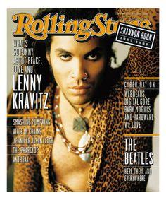 Lenny Kravitz, Rolling Stone Magazine cover, no. 722, November 30, 1995