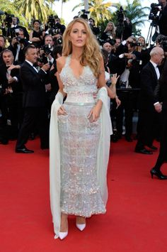Blake Lively Cannes Film Festival - Chanel Couture