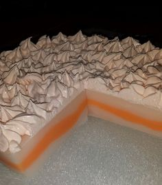 lemon meringue soap cake with luxury whip soap topping www.divaapothecary.co.uk