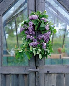 Make Mom a lilac wreath!