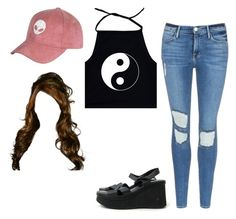 """""""gurrrlll"""" by photogeekgirl ❤ liked on Polyvore featuring Frame"""