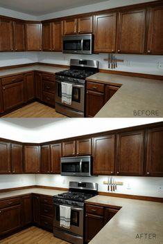 DIY Cabinet Lighting