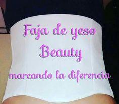 Faja de yeso Beauty , reduce 2 tallas en tan solo 15 dias