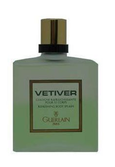 Vetiver Guerlain by Guerlain for Men. 6.8 Oz Refreshing Body Splash Old One by Guerlain. $50.00. 6.8 oz - BathBody. Body Splash. International Shipping Available. Introduced in the year 1959, by the design house of Guerlain. Vetiver Guerlain is an invigorating, dry, spicy and vibrant fragrance with a blend of vetiver, nutmeg and pepper. It is recommended for evening wear.. Vetiver Guerlain Body Care Guerlain Perfumes, Vetiver Guerlain Body Care 6.8 OZ at discount prices, brow...
