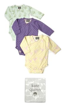 kate quinn designs highlight your baby's natural beauty with simple, elegant lines and fresh, nature-inspired colors.