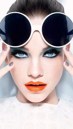STYLING Model Face <~> :: Model Barbara Palvin, Look Miss Pop - L'Oréal…