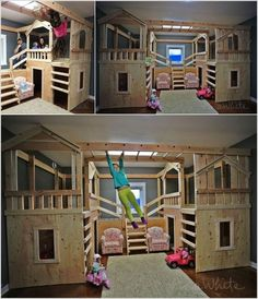 Elegant 10 Cool DIY Bunk Bed Ideas For Kids: How To Be The Coolest Parent Ever