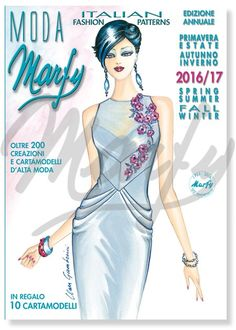 Marfy sewing patterns: Spring/Summer and Fall/Winter 2016/17 collections. Free GIFT in the catalogue: 10 printed patterns