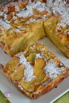 The Italian Food Diet Fruit Recipes, Apple Recipes, Sweet Recipes, Cake Recipes, Dessert Recipes, Cooking Recipes, Italian Desserts, Sweet Desserts, Italian Recipes