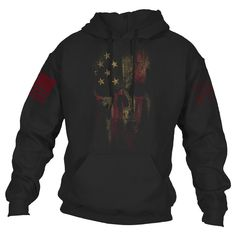 With a new conflict comes a new reaper. An update to your favorite, re-designed and ready to work.  Our updated American Reaper 2.0 design is now on a super comfortable 50% cotton and 50% polyester blend hoodie. Perfect to fight the winds of winter!