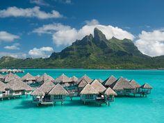 Bora Bora, French Polynesia | Dream Vacations | Everywhere