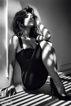 Jessica Biel in GQ Magazine UK, Photography by Michael Thompson.