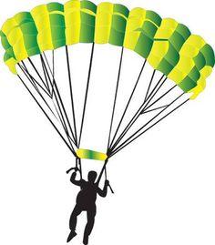 123RF - Des millions de photos, vecteurs, vidéos et fichiers musicaux créatifs pour votre inspiration et vos projets. Paragliding, Skydiving, Superman, Bunny, Clip Art, Adventure, Buckets, Bt 21, Painting
