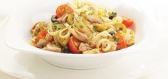Linguini with Tuna and Olives