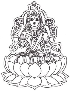 adult coloring page india hindu god 5