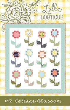 Cottage Blossoms quilt pattern