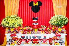 Atelier Mellucca: Festa Minnie Vermelha Luxo