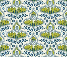winter_brocade fabric by holli_zollinger on Spoonflower - custom fabric