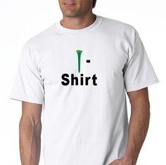 Golf Tee Shirt by DesignerTeez on Etsy