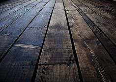 Would love to have old floors like this. Beautiful.