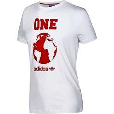 Adidas short sleeve World Globe Tee Shirt