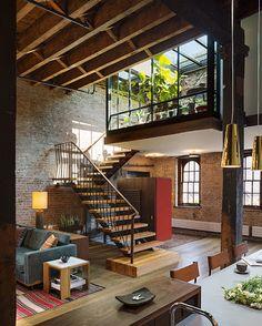 Contemporist New York Apartment Luxury Manhattan Warehouse Studio