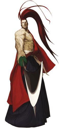 Genjuro Kibagami - Characters & Art - SNK vs. Capcom: SVC Chaos