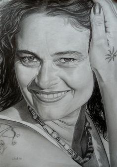 Wout de Jong. Portret vrouw