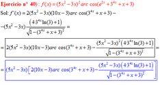 Derivadas - ejercicios de derivadas resueltos en Derivadas.es - Part 6